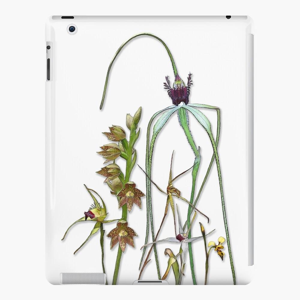 Orchids of Australia 1 Native orchids of Western Australia iPad Case & Skin