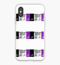 Asexual Flag You Can Have Your Cake And Ace It Asexual T-Shirt iPhone Case