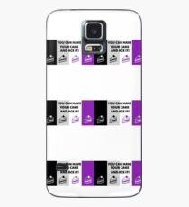 Asexual Flag You Can Have Your Cake And Ace It Asexual T-Shirt Case/Skin for Samsung Galaxy