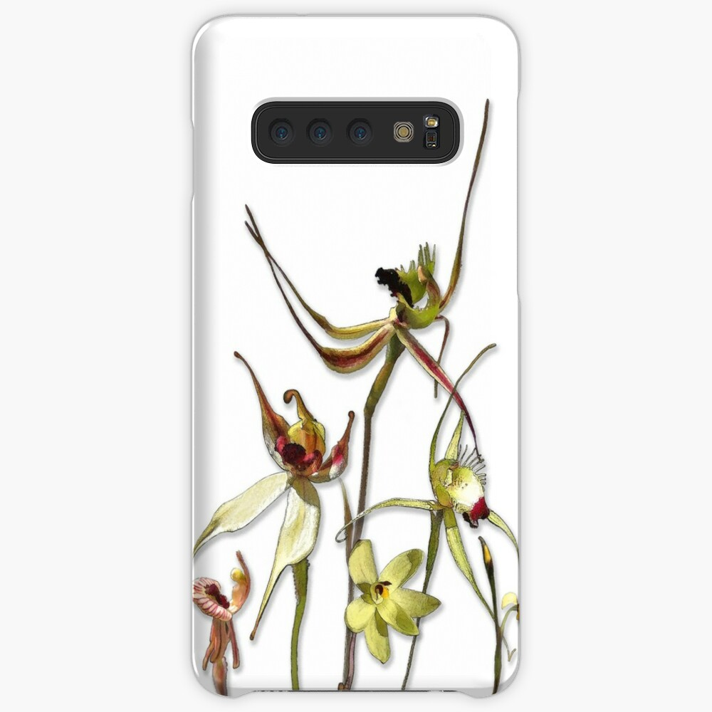 Orchids of Australia 4 Native orchids of Western Australia Case & Skin for Samsung Galaxy
