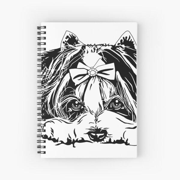 Biewer Terrier Spiral Notebook