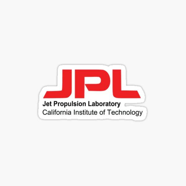 NASA Jet Propulsion Laboratory (JPL) Logo Shirt Sticker