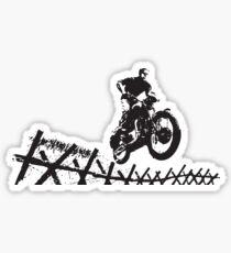Steve McQueen Jump Sticker