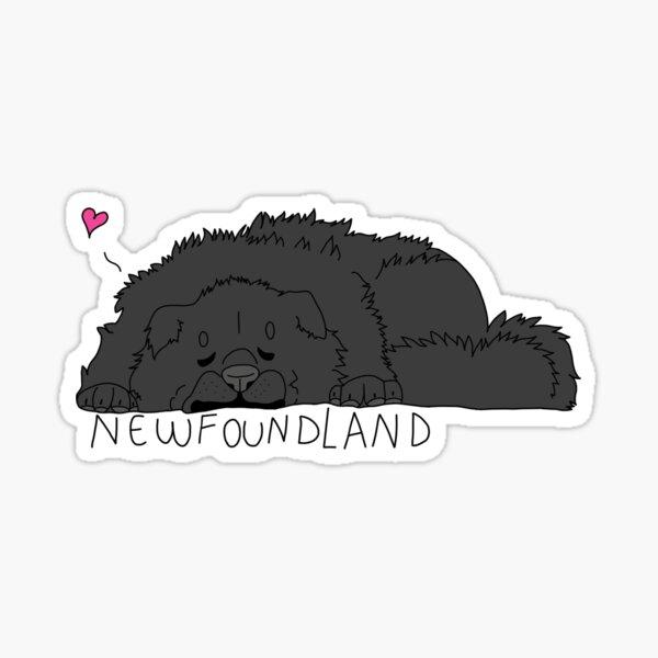 Newfie Sticker