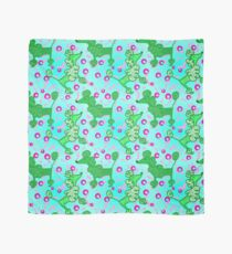 Green Poodles - Pink Dots (2018) Scarf