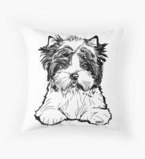 Biewer Terrier  Floor Pillow