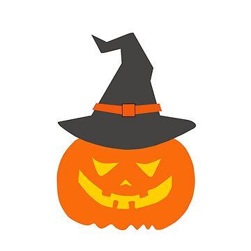 Halloween Series Ghost Hat Pumpkin by Homyar