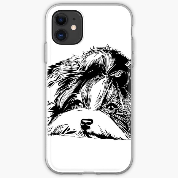 Biewer Terrier iPhone Soft Case