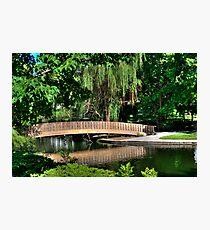 Bridge HDR Photographic Print