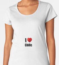 Chile I Love Country Lover Pride Funny Gift Idea Women's Premium T-Shirt