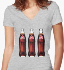 Thums Up Women's Fitted V-Neck T-Shirt