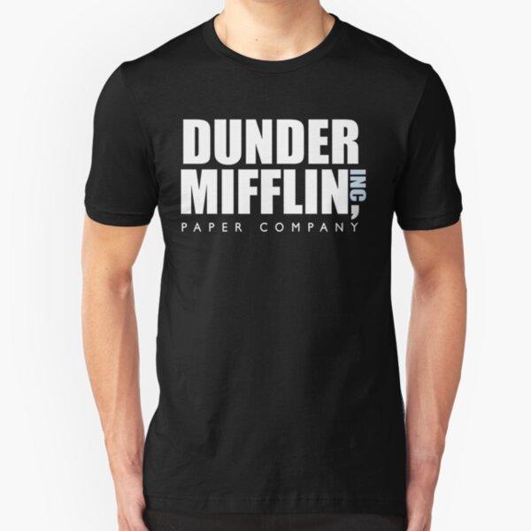 dunder mifflin Camiseta ajustada