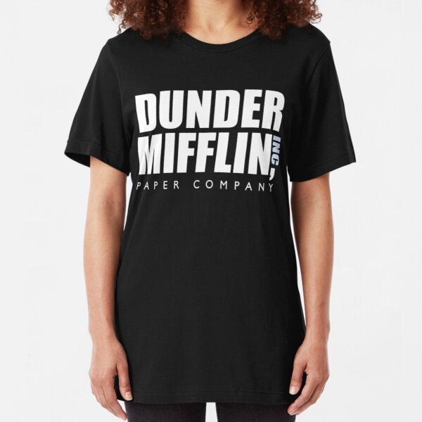 dunder mifflin Slim Fit T-Shirt