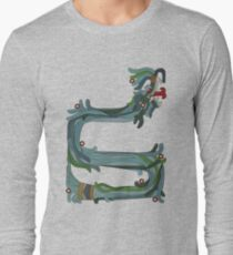 Quetzacoatl: The Feathered Serpent Long Sleeve T-Shirt