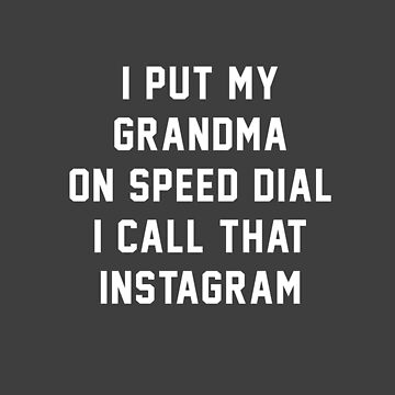 I call that Instagram by Primotees