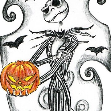 Jack Skellington by GrizzlyGoods