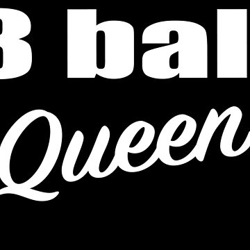 8 Ball Queen Billiards Pool Players Gifts by sols