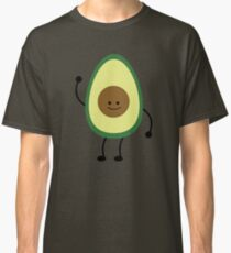 Waving Avocado Classic T-Shirt