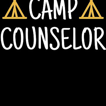 Camp Counselor Gift Camping Summer Nature Outdoors by modernmerch