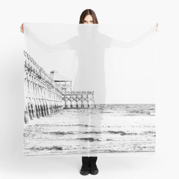 Folly Beach Pier: Charleston, SC Scarf