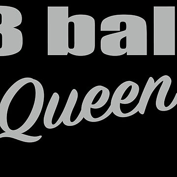 8 Ball Queen Billiards Pool Players  by sols