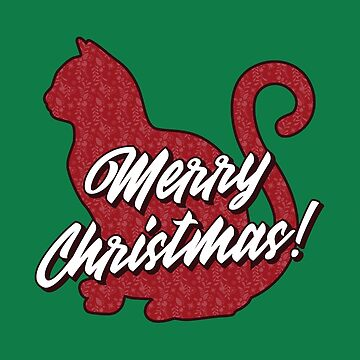 Christmas Cat by BlueRockDesigns