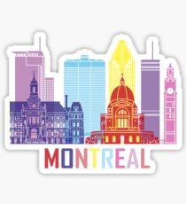 Montreal Quebec City Sticker