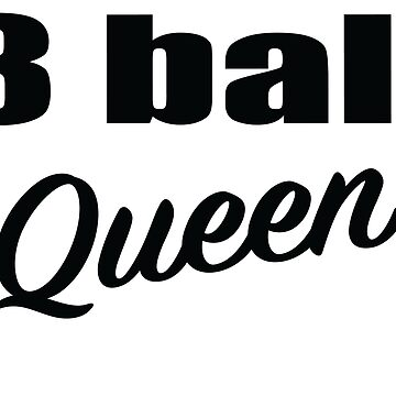 8 ball Billiards Pool Queen by sols