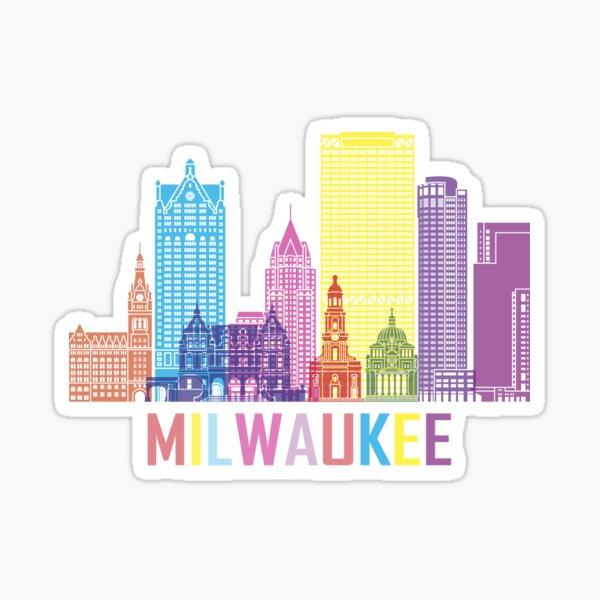 Milwaukee Wisconsin City Sticker