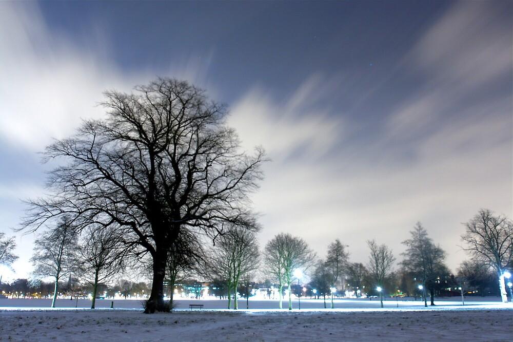Snow in London by Alastair Humphreys