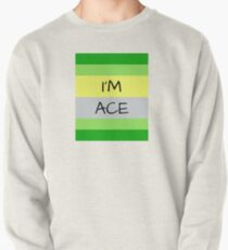 AROMANTIC FLAG I'M ACE ASEXUAL T-SHIRT Pullover
