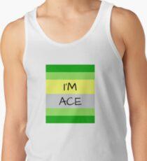 AROMANTIC FLAG I'M ACE ASEXUAL T-SHIRT Men's Tank Top