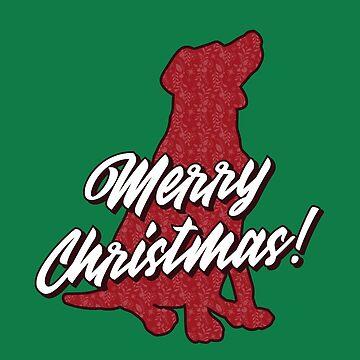Christmas Dog by BlueRockDesigns