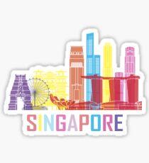 Singapore Asia City Sticker