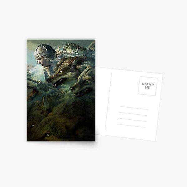 Wild Hunt Postcard