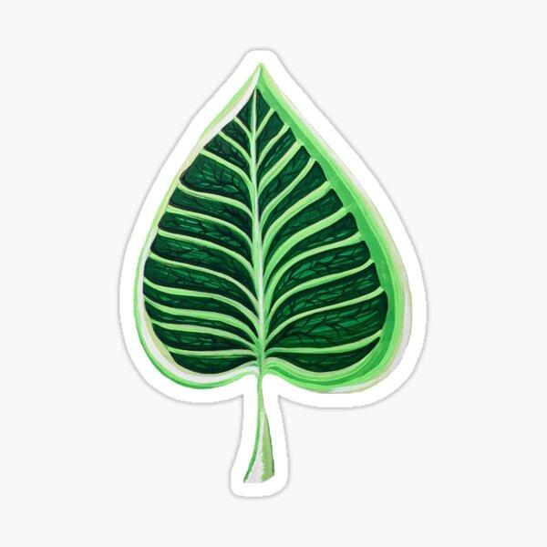 Northern Catalpa Leaf Sticker