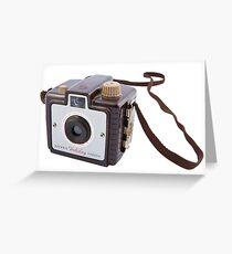 Brownie Camera Greeting Card