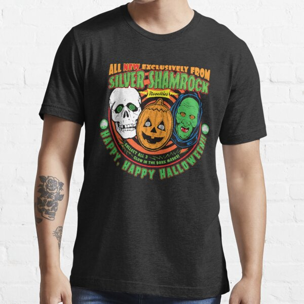 Silver Shamrock  Halloween Ad Essential T-Shirt