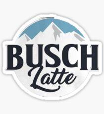 Pegatina Busch latte