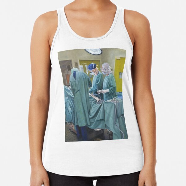 Veiled Vocation - Oil on canvas by Avril Thomas Racerback Tank Top
