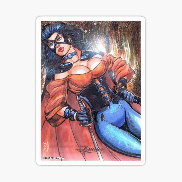 Lady Zorro™ Sticker