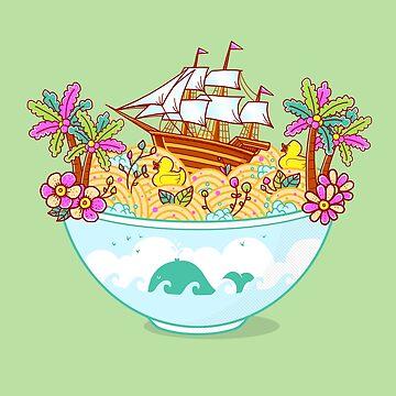 Ocean Adventure Ramen by GODZILLARGE