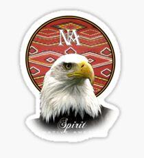 eagle nation Sticker