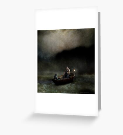 Charon's Lullaby Greeting Card