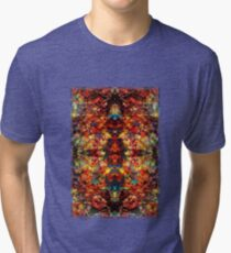 A Crazy Monkey Faced Vision at 1 am Tri-blend T-Shirt