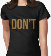 Bryson Tiller Don't Trapsoul Rap Hip Hop Women's Fitted T-Shirt