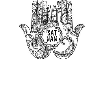 Kundalini Yoga - Sat Nam - Kundalini Chakra Shirt - Lotus Flower by JuditR
