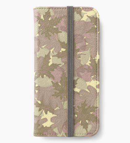 Soft Fall #redbubble #fall iPhone Wallet