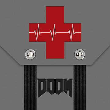 Doom Medikit First Aid by GoMerchBubble