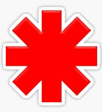 Asterisk rhcp Sticker